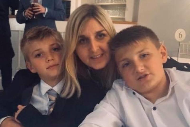 Lorna Caley-Liddle is pleading for help in funding cancer treatment to enable her to spend a few more months with her two sons (Lorna Caley-Liddle)