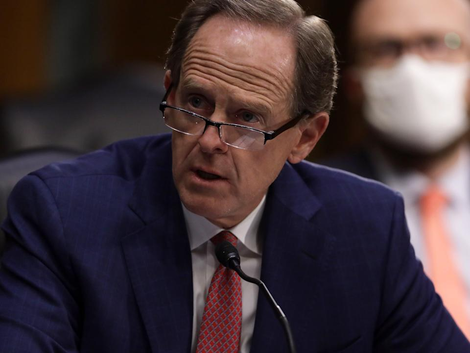 Sen Pat Toomey congratulated Joe Biden as the president-elect on Saturday (Getty Images)