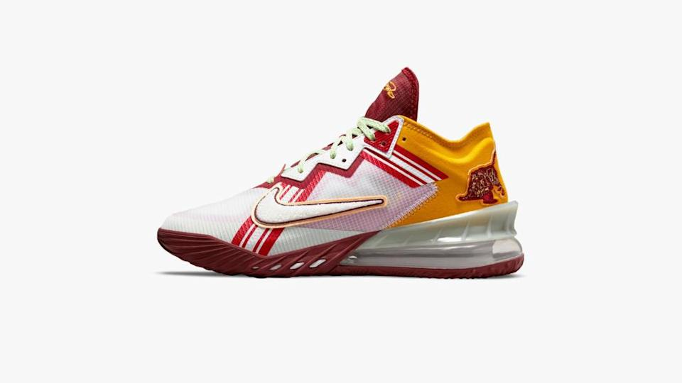 """The Nike LeBron 18 Low x Mimi Plange """"Higher Learning."""" - Credit: Courtesy of Nike"""