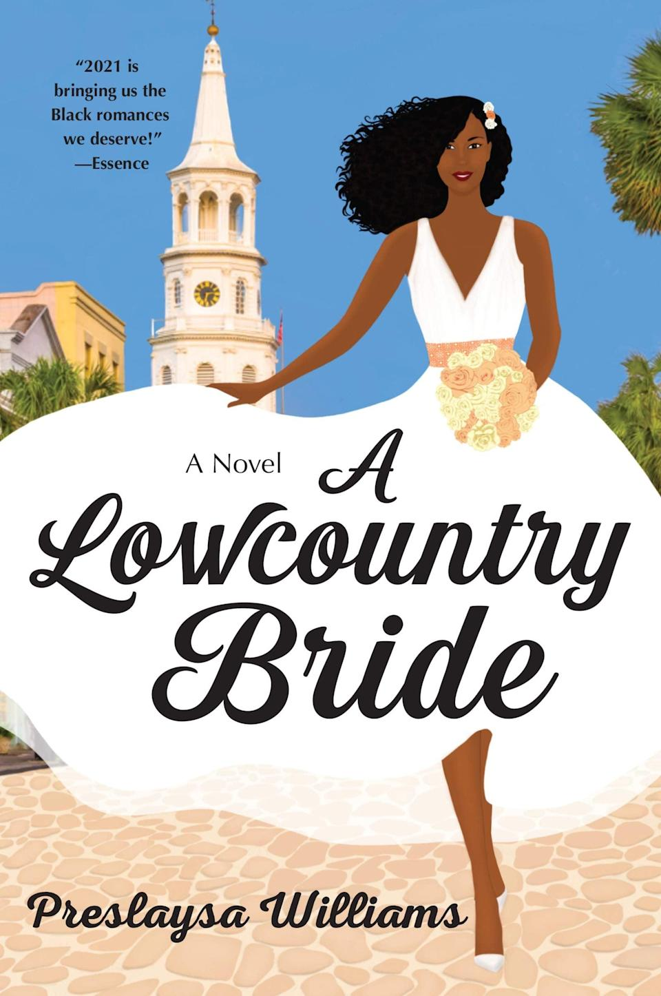 <p><span><b>A Lowcountry Bride</b></span> by Preslaysa Williams is a perfect summer read. Maya Jackson is delighted to find work at a local bridal gown shop when returns home to Charleston to help out her father after an injury, but the last thing on her mind is romance. The same is true for the shop's owner, a veteran and single dad who definitely doesn't have time to fall for a woman who won't be sticking around. </p> <p><em>Out June 1</em></p>