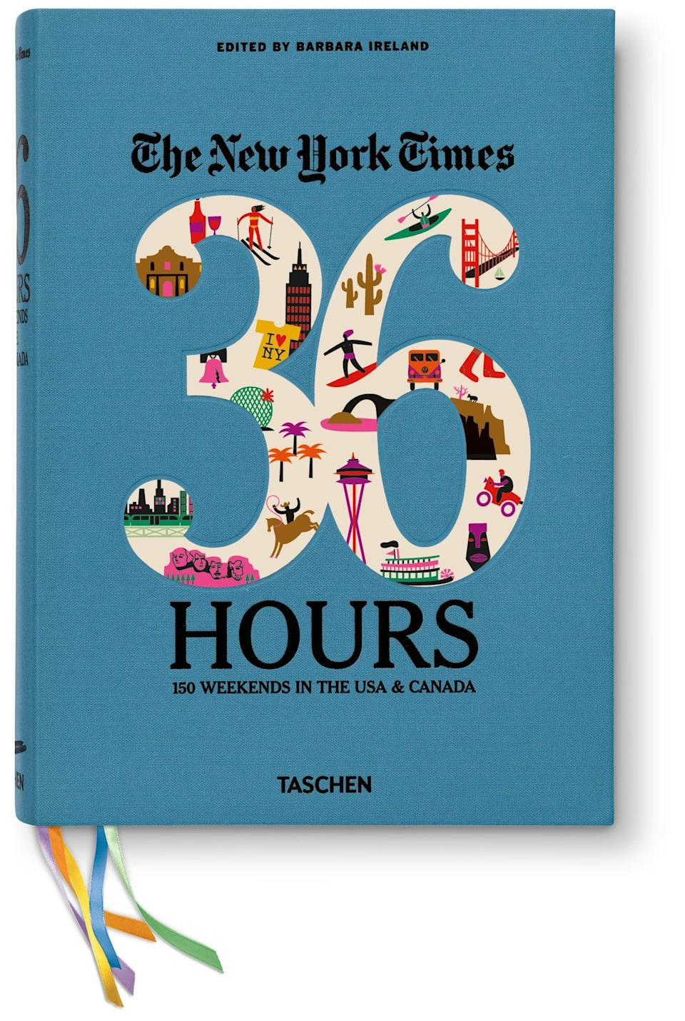<p>You may have heard of the popular newspaper column, but this <span><strong>The New York Times 36 Hours Travel Guidebook</strong></span> ($38) for the US and Canada turns it into convenient book form, perfect for a road trip.</p>