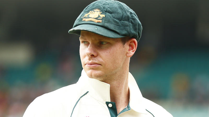 Australian cricketer Steve Smith is eligible to captain the national team again, having served his punishment for his involvement in the sandpaper scandal in 2018. (Photo by JEREMY NG/AFP via Getty Images)