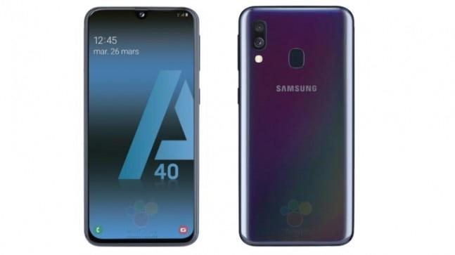 The Galaxy A40 will slot in between the Galaxy A30 and Galaxy A50. Samsung may announce the Galaxy A40 at its Galaxy A-series event on April 10.