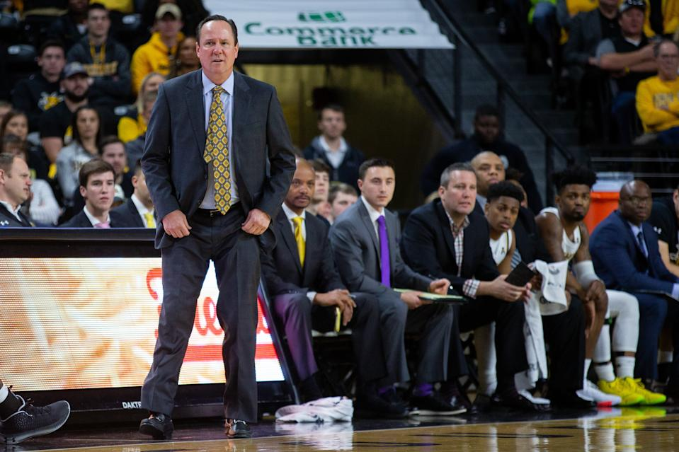 Wichita State Shockers head coach Gregg Marshall