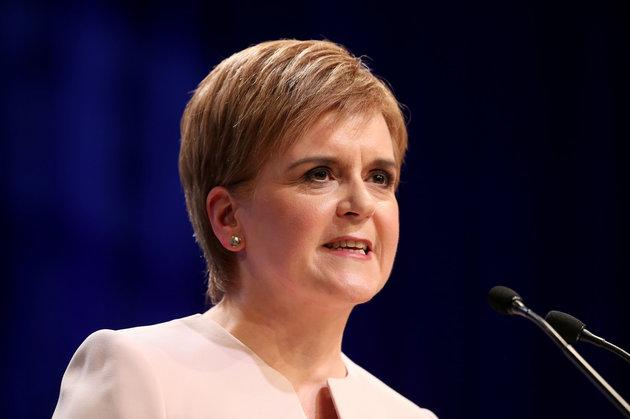 First Minister Nicola Sturgeon has backed the party's Westminster leader over his challenge of the speaker
