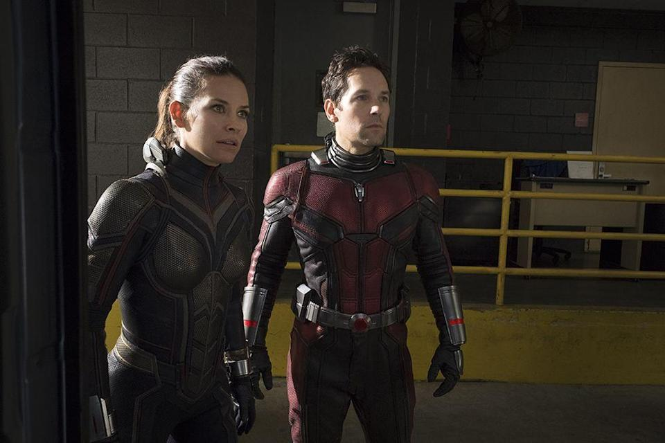 """<p>The Ant-Man sequel, which follows his further adventures into the Quantum Realm, stays on the lighter side; director Peyton Reed says that <a href=""""https://www.washingtonpost.com/news/comic-riffs/wp/2018/07/06/how-ant-man-and-the-wasp-director-looked-to-barbra-streisand-for-marvel-action/?noredirect=on"""" rel=""""nofollow noopener"""" target=""""_blank"""" data-ylk=""""slk:one of its big inspirations"""" class=""""link rapid-noclick-resp"""">one of its big inspirations</a> was the Barbra Streisand comedy <em><a href=""""https://www.amazon.com/Whats-Up-Doc-Barbra-Streisand/dp/B008ROGHH6?tag=syn-yahoo-20&ascsubtag=%5Bartid%7C10055.g.29023076%5Bsrc%7Cyahoo-us"""" rel=""""nofollow noopener"""" target=""""_blank"""" data-ylk=""""slk:What's Up, Doc?"""" class=""""link rapid-noclick-resp"""">What's Up, Doc?</a></em> </p><p><a class=""""link rapid-noclick-resp"""" href=""""https://www.amazon.com/Ant-Man-Wasp-Paul-Rudd/dp/B07F1HTM3K?tag=syn-yahoo-20&ascsubtag=%5Bartid%7C10055.g.29023076%5Bsrc%7Cyahoo-us"""" rel=""""nofollow noopener"""" target=""""_blank"""" data-ylk=""""slk:AMAZON"""">AMAZON</a> <a class=""""link rapid-noclick-resp"""" href=""""https://go.redirectingat.com?id=74968X1596630&url=https%3A%2F%2Fwww.disneyplus.com%2Fmovies%2Fmarvel-studios-ant-man-and-the-wasp%2F5D7wkVHmlCKU&sref=https%3A%2F%2Fwww.goodhousekeeping.com%2Flife%2Fentertainment%2Fg29023076%2Fmarvel-movies-mcu-in-order%2F"""" rel=""""nofollow noopener"""" target=""""_blank"""" data-ylk=""""slk:DISNEY+"""">DISNEY+</a></p>"""