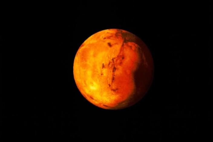 Look up Tuesday night! Mars hasn't been this bright in October in over 30 years