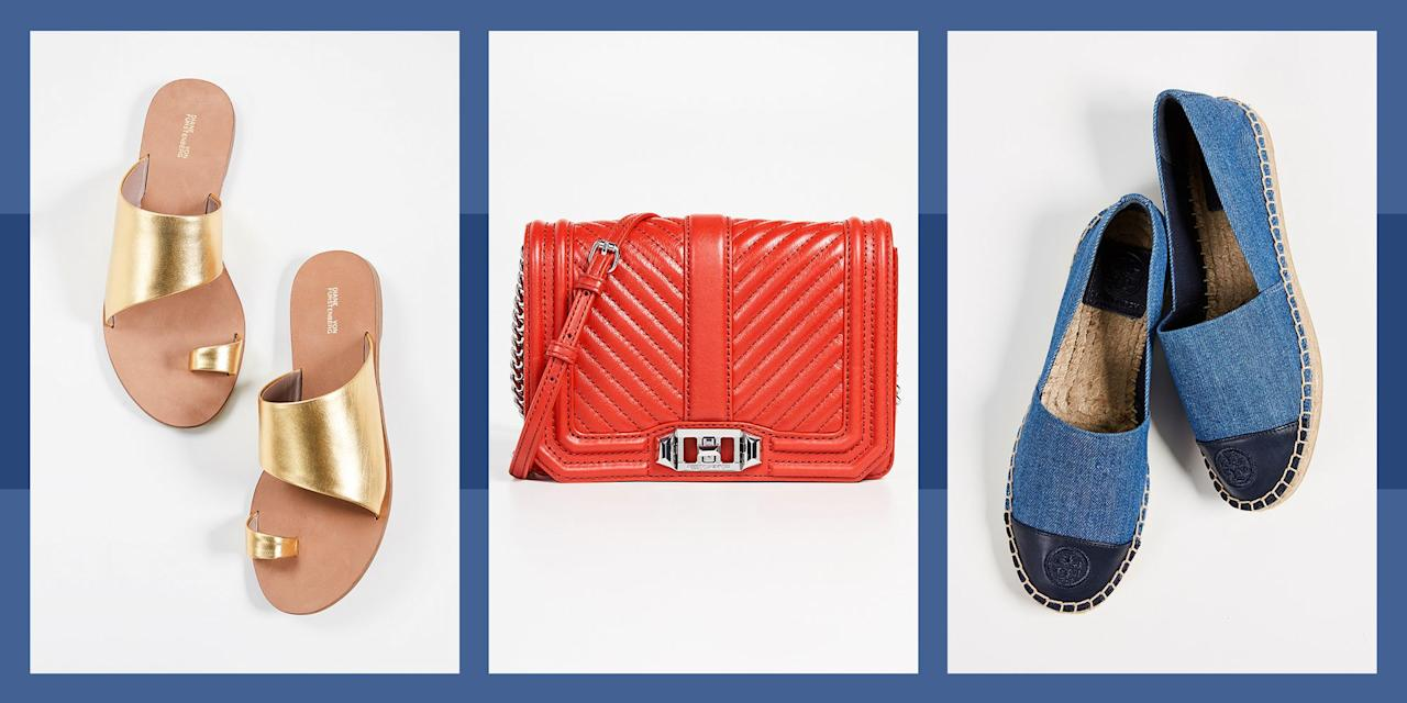 "<p>Now that warmer weather has finally arrived, it's time to revamp your spring and summer accessory game. Right now, <a href=""https://www.shopbop.com/sale-new/br/v=1/14233.htm"" target=""_blank"">Shopbop is hosting</a> their annual Memorial Day sale, <strong>offering you discounts of up to 40 percent</strong> on your favorite shoes, handbags, and hair accessories. From Tory Burch sandals to Rebecca Minkoff totes, there are hundreds of discounted items you'll want to shop ASAP. </p><p>We rounded up our favorite picks to shop during the sale here-<a href=""https://www.shopbop.com/sale-new/br/v=1/14233.htm"" target=""_blank"">then head to Shopbop</a> to see the whole selection. </p>"