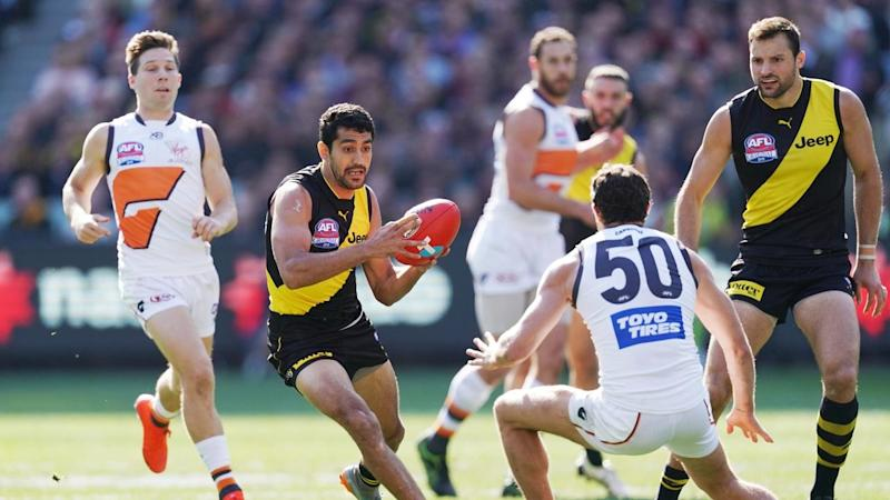 Richmond's Marlion Pickett will encounter another surreal atmosphere when the AFL gets underway