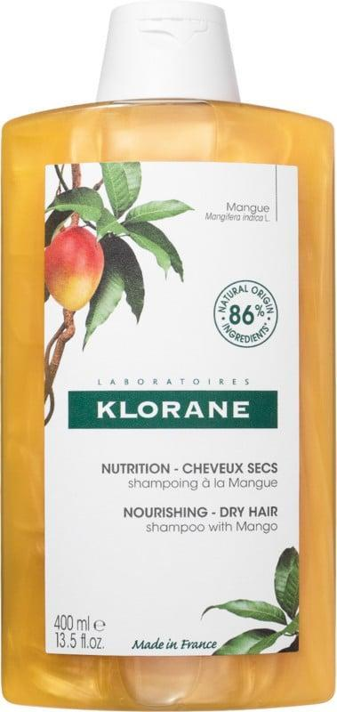 <p>The hero ingredient in <span>Klorane Shampoo With Mango</span> ($20) is, well, mango butter. It nourishes, softens, and protects the hair shaft. Reviewers on Ulta's site recommend it for even the driest and most damaged of hair conditions.</p>