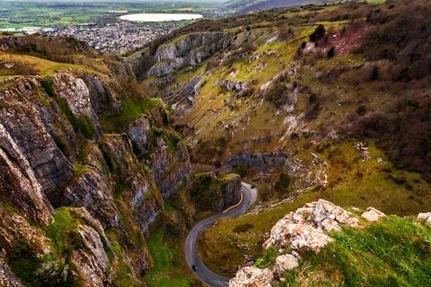 Cheddar Gorge: a great spot for a cheese picnic - Credit: getty