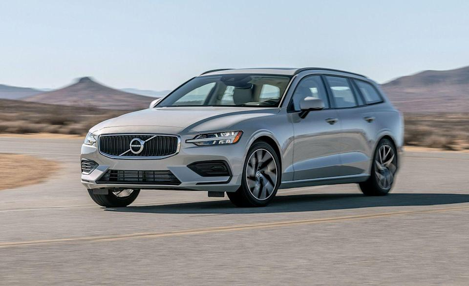 """<p>Volvo swinging the axe on their <a href=""""https://www.caranddriver.com/volvo/v60"""" rel=""""nofollow noopener"""" target=""""_blank"""" data-ylk=""""slk:V60"""" class=""""link rapid-noclick-resp"""">V60</a> and <a href=""""https://www.caranddriver.com/volvo/v90"""" rel=""""nofollow noopener"""" target=""""_blank"""" data-ylk=""""slk:V90"""" class=""""link rapid-noclick-resp"""">V90</a> wagons is a tough pill to swallow. Like paying taxes and getting a flat tire from a pothole on your way into work, it feels like a personal injustice. But for as useful, beautiful, and well controlled as the options in the wagon segment are, not enough fish are biting on them. Unless it's the <a href=""""https://www.caranddriver.com/subaru/outback"""" rel=""""nofollow noopener"""" target=""""_blank"""" data-ylk=""""slk:Subaru Outback"""" class=""""link rapid-noclick-resp"""">Subaru Outback</a>, wagons such as the <a href=""""https://www.caranddriver.com/jaguar/xf-sportbrake"""" rel=""""nofollow noopener"""" target=""""_blank"""" data-ylk=""""slk:Jaguar XF Sportbrake"""" class=""""link rapid-noclick-resp"""">Jaguar XF Sportbrake</a> don't do well enough to stick around. For now, Volvo will keep selling the taller, more SUV-like V60 Cross Country and V90 Cross Country models, aligning with <a href=""""https://www.caranddriver.com/audi/a6-allroad"""" rel=""""nofollow noopener"""" target=""""_blank"""" data-ylk=""""slk:Audi A6 Allroad"""" class=""""link rapid-noclick-resp"""">Audi A6 Allroad</a> and <a href=""""https://www.caranddriver.com/reviews/a34577532/2021-mercedes-benz-e450-all-terrain-by-the-numbers/"""" rel=""""nofollow noopener"""" target=""""_blank"""" data-ylk=""""slk:Mercedes-Benz E450 All-Terrain"""" class=""""link rapid-noclick-resp"""">Mercedes-Benz E450 All-Terrain</a>.</p>"""