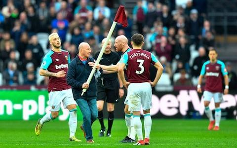 <span>West Ham are a reliable source of off-field pantomime drama</span> <span>Credit: AFP </span>