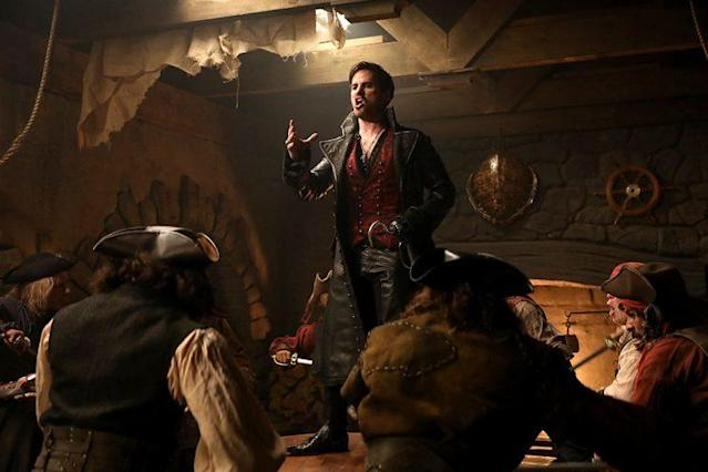 Colin O'Donoghue as Hook in ABC's 'Once Upon a Time' (Photo: Jack Rowand/ABC)