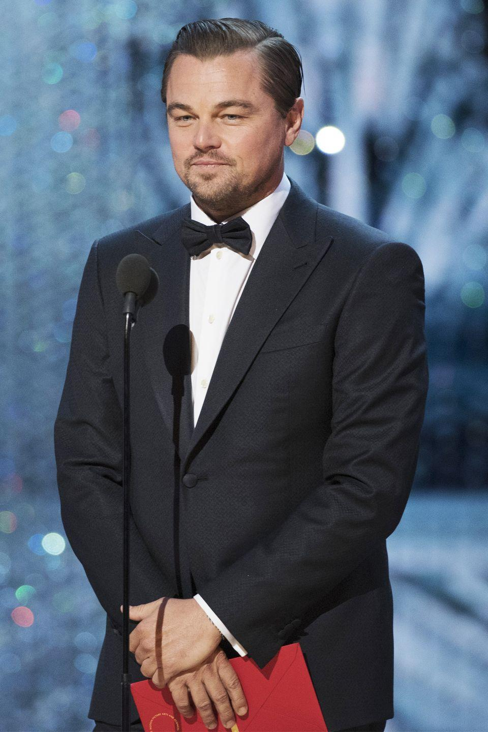 "<p>The Oscar-winner <a href=""http://www.eonline.com/photos/9003/high-school-dropouts/289950"" rel=""nofollow noopener"" target=""_blank"" data-ylk=""slk:dropped out"" class=""link rapid-noclick-resp"">dropped out</a> of school after his junior year and started studying at a free local drama center instead.</p>"