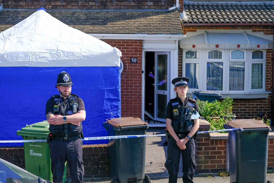 A 31-year-old man who was arrested on suspicion of murder remains in custody. (SWNS)