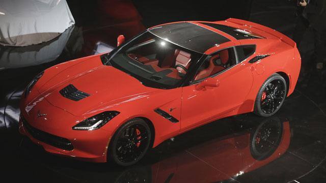 General Motors Unveils 2014 Corvette