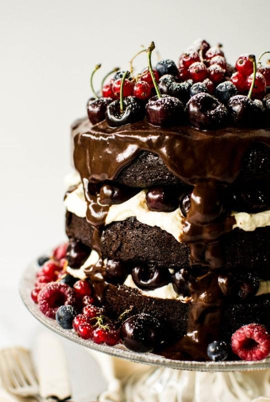 cake of the day black forest gateau