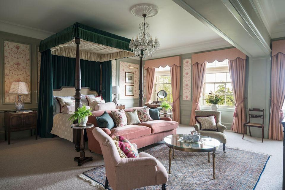 "<p>Ever since it opened, Gleneagles has been desirable – so much so that it was built with its own train station so that early holidaymakers could get there with ease. The grand estate, self-styled as 'Scotland's playground', is equally tempting to tourists today, thanks to its combination of adventurous and epicurean activities. Guests can go off-roading, golfing, zip-lining and shooting, help train the gundogs and master the art of falconry, before returning for steaks, curries or pizza at the Dormy, cocktails at the Century Bar, carby Italian food at the Birnam Brasserie or just more shortbread from the continually restocked supply at the tea station in your suite. Come evening, dress up for dinner at either the Strathearn or Scotland's only two-Michelin-starred restaurant, Andrew Fairlie at Gleneagles. It's so good, a city edition will be launching, to the joy of all Edinburgh residents, in a townhouse this autumn.</p><p>Gleneagles, from £425 a room a night B&B (<a href=""https://gleneagles.com/"" rel=""nofollow noopener"" target=""_blank"" data-ylk=""slk:gleneagles.com"" class=""link rapid-noclick-resp"">gleneagles.com</a>).</p>"
