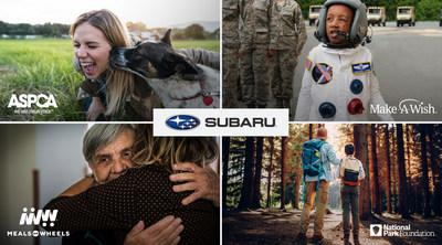 2019 Subaru Share the Love® Event Reaches $30.4 Million in Charitable Donations; Subaru surpasses goal and donates more than $175 million to over 1,170 national and local charity partners over last 12 years