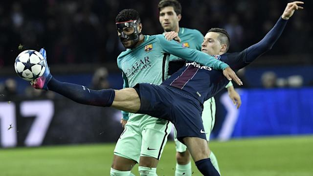 The La Liga giants will face the Italian champions in a quarter-final tie under the guidance of an official who oversaw their 4-0 defeat in France