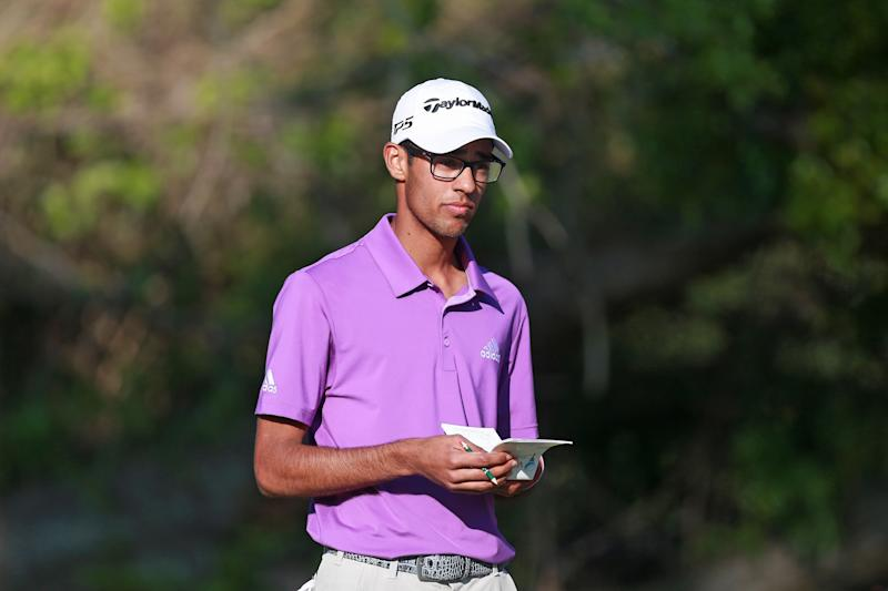 17-year-old am Akshay Bhatia makes Web.com Tour cut after Monday qualifying into field