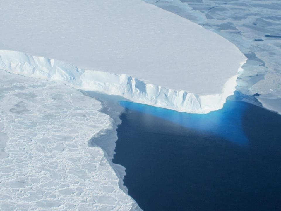 Thwaites glacier is roughly the same size as the UK and already contributes to 4 per cent of global sea level rise: Nasa