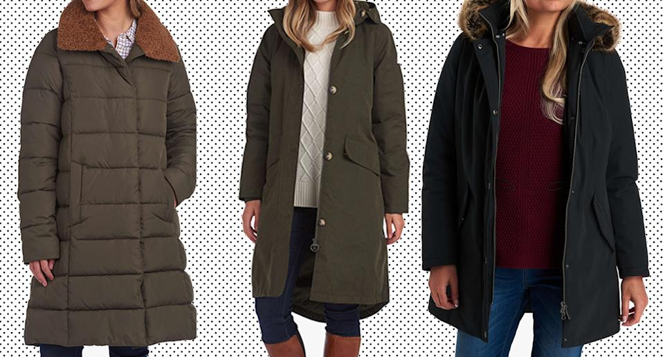 These exclusive Barbour coats are selling quickly. (John Lewis & Partners)