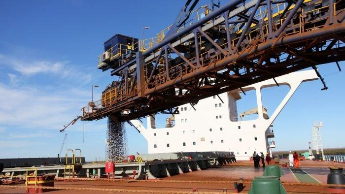 Iron ore prices slide