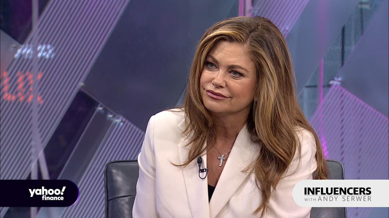 Former supermodel Kathy Ireland, the CEO of Kathy Ireland Worldwide, appears on Influencers with Andy Serwer.
