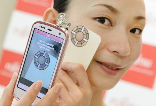 'Hada Memori' is the first in a series of devices produced by Fujitsu