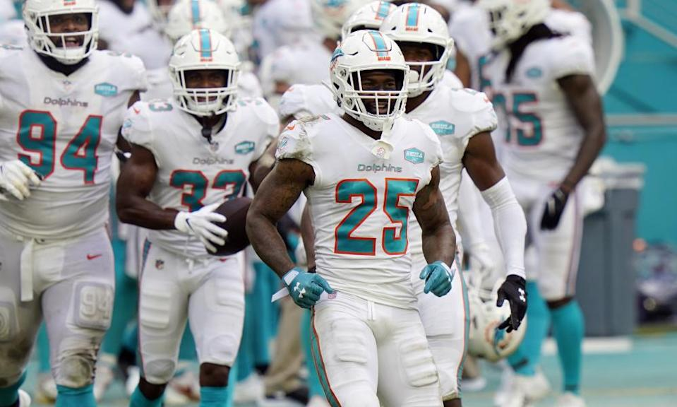 Xavien Howard has been a revelation on defense for the Dolphins