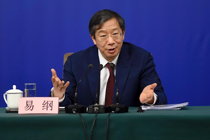 New China c.bank governor: China should keep financial sector stable