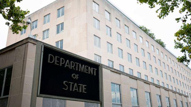 PHOTO: The US Department of State building is seen in Washington, DC, on July 22, 2019. (Alastair Pike/AFP/Getty Images)