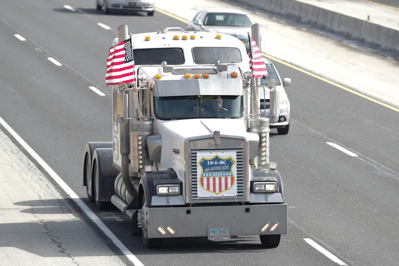 A new Bureau of Labor Statistics report contradicts more than a decade of warnings from the American Trucking Associations that there is a shortage of drivers. (Photo: ASSOCIATED PRESS)
