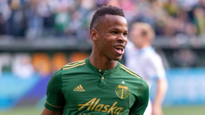 Jeremy Ebobisse MLS Timbers Sounders 11032018