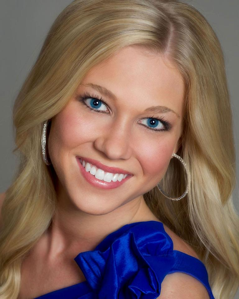 "Miss North Dakota, Ariana Walker is a contestant in the ""<a href=""/2012-miss-america-pageant/show/48165"">2012 Miss America Pageant</a>."""