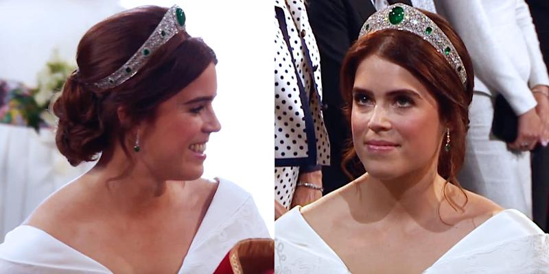 Princess Eugenie Wore The Chillest Wedding Hairstyle Of All The