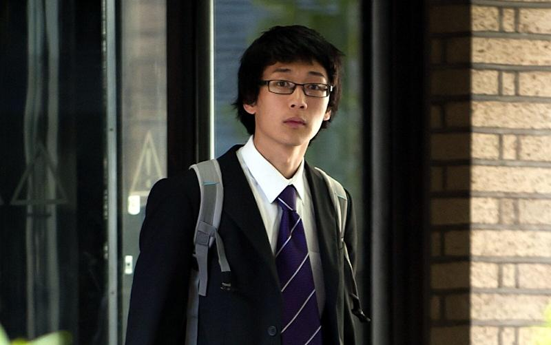 Statistician Sherman Ip, 25, is accused of raping a woman after allegedly texting her a year later to apologise