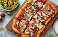 """<p>Your guests may not agree on politics but they'll unite behind colorful <a href=""""https://www.thedailymeal.com/best-recipes/best-pizza-recipes-and-pizza-cooking-ideas?referrer=yahoo&category=beauty_food&include_utm=1&utm_medium=referral&utm_source=yahoo&utm_campaign=feed"""" rel=""""nofollow noopener"""" target=""""_blank"""" data-ylk=""""slk:homemade pizza"""" class=""""link rapid-noclick-resp"""">homemade pizza</a>. The green party even gets a nod with a side of arugula salad. </p> <p><a href=""""https://www.thedailymeal.com/recipes/red-white-and-blue-pizza-recipe-0?referrer=yahoo&category=beauty_food&include_utm=1&utm_medium=referral&utm_source=yahoo&utm_campaign=feed"""" rel=""""nofollow noopener"""" target=""""_blank"""" data-ylk=""""slk:For the Red, White and Blue Pizza recipe, click here."""" class=""""link rapid-noclick-resp"""">For the Red, White and Blue Pizza recipe, click here.</a></p>"""