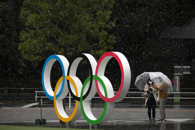 The 2020 Olympics will proceed as planned ... for now. (AP Photo/Jae C. Hong)