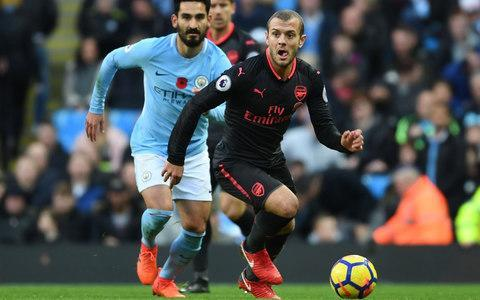 Wilshere's gametime has been severely limited this seasonCredit: Getty images