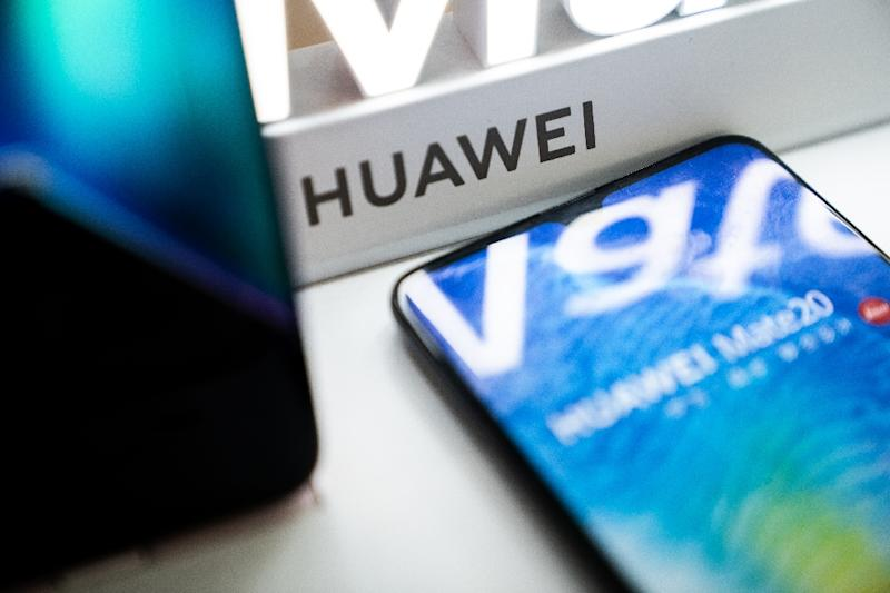 Google partially barring Huawei from its Android operating system has presented the Chinese giant with a major challenge (AFP Photo/FRED DUFOUR)