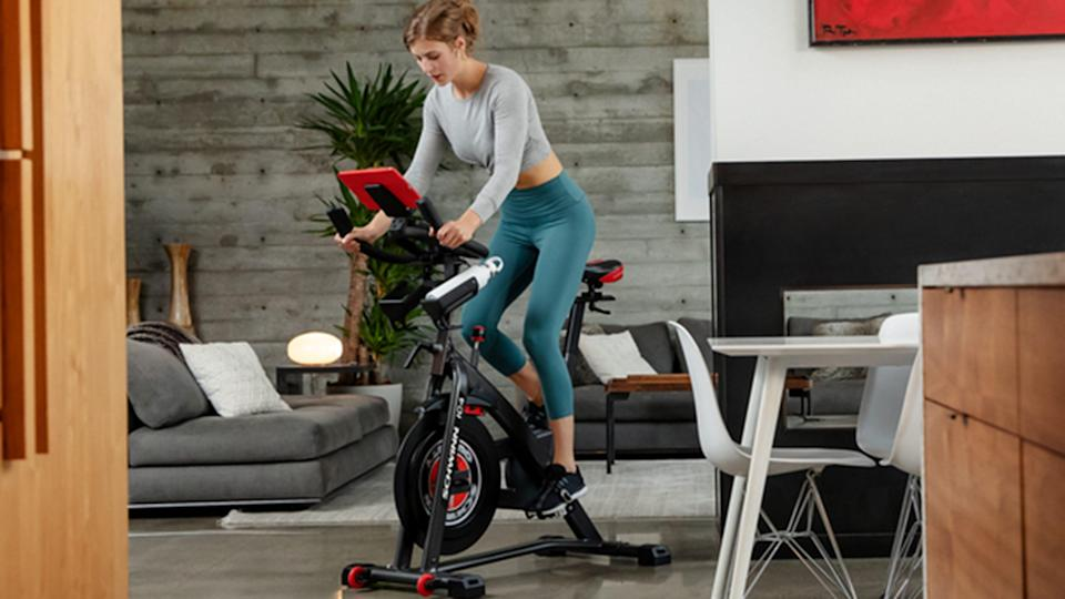The Schwinn IC4 Indoor Cycling Bike is a more affordable alternative to the Peloton Bike.