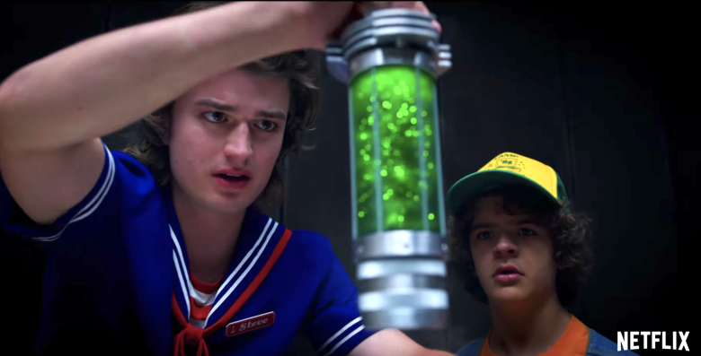 new products f7cc7 0137f  Stranger Things  Season 3 Trailer Gives Major  Jurassic Park  Vibes and a  Voice to the Monster