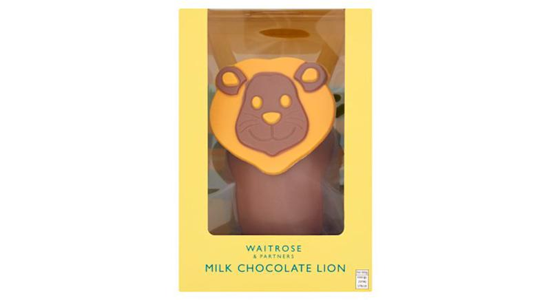 Milk Chocolate Lion