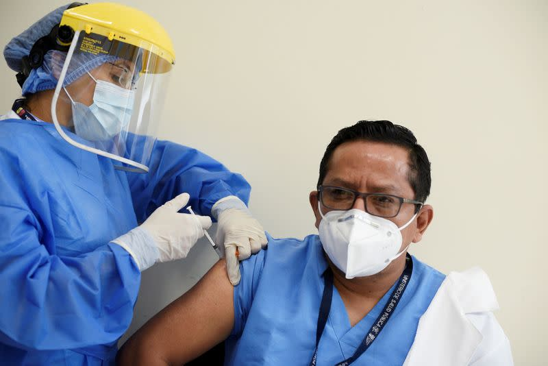 FILE PHOTO: Outbreak of the coronavirus disease (COVID-19), in Guayaquil