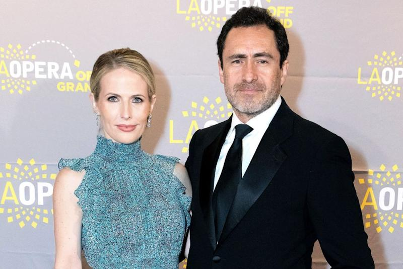 Stefanie Sherk and Demian Bichir | Greg Doherty/Getty Images