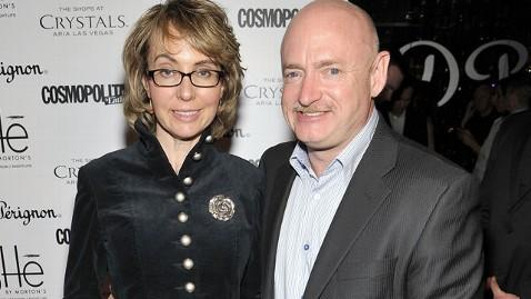 gty gabrielle giffords mark kelly thg 130418 wblog Mark Kelly on Gun Vote: Gabby Is Angry Today