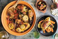 """<a href=""""https://www.epicurious.com/recipes/food/views/safois-moroccan-chicken-tagine?mbid=synd_yahoo_rss"""" rel=""""nofollow noopener"""" target=""""_blank"""" data-ylk=""""slk:See recipe."""" class=""""link rapid-noclick-resp"""">See recipe.</a>"""